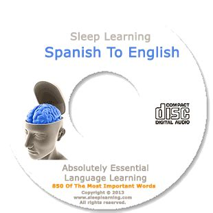 sleeping pattern in spanish spanish learn english while you sleep the official sleep