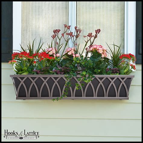 wrought iron window boxes decorative window boxes decora wrought iron flower boxes