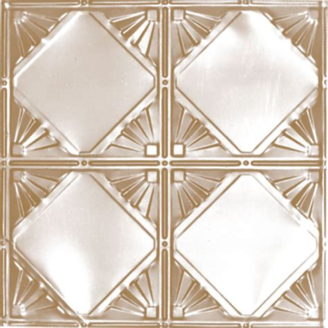 shanko 2 x 2 brass plated steel finish lay in