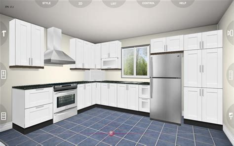 3d kitchen design eurostyle kitchen 3d design android apps on google play