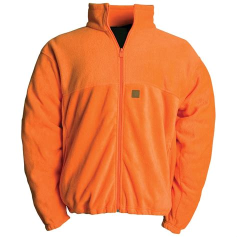 Jacket Orange orange fleece jacket coat nj
