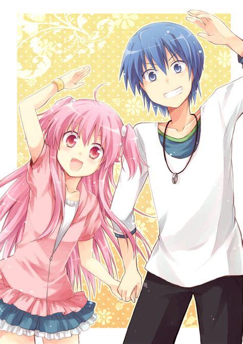 cute anime couples angels angel beats 1926528 zerochan