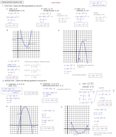 quadratic transformation worksheet quadratic transformations worksheet free worksheets