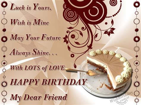 Happy Birthday Friend Wishes Birthday Wishes For Friend Birthday Images Pictures