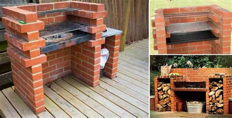 How To Build A Backyard Grill How To Build A Brick Barbecue For Your Backyard Home Design Garden Architecture Magazine