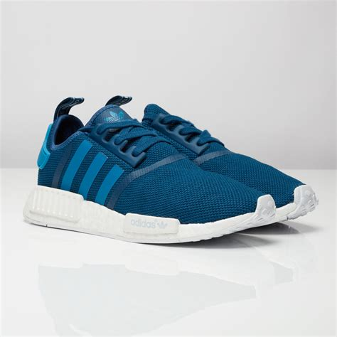 Adidas Originals Nmd R1 Tech Steel adidas nmd sale cheap review black white grey pink for sale