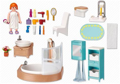 Playmobil Salle De Bain by Playmobil Dollhouse 5330 Pas Cher Salle De Bains Avec