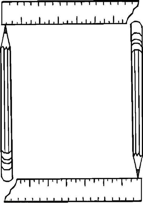 free coloring pages of of frames