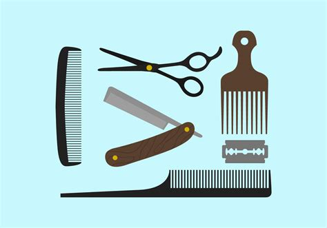 pictures tools for barber tools free vector stock graphics