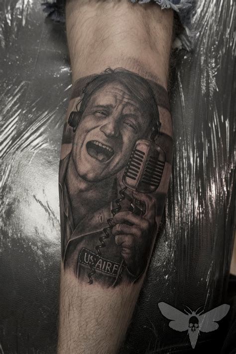 robin williams tattoo marko visnic certified artist