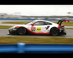 Porsche Gt3 Rsr Porsche 911 Rsr And 911 Gt3 R At 2017 Imsa Daytona 24 Hours
