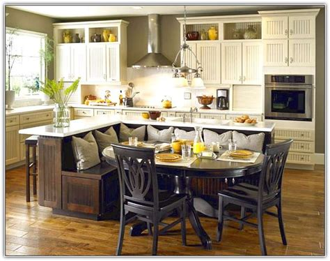 kitchen island with table seating 17 best images about kitchen remodel on