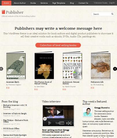 create your own book club website with wordpress