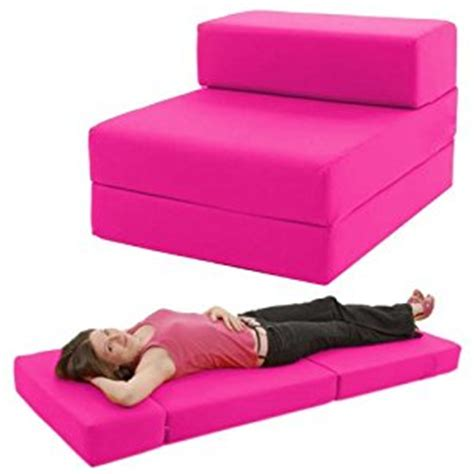 hot pink futon standard chairbed hot pink single chairbed chair z bed