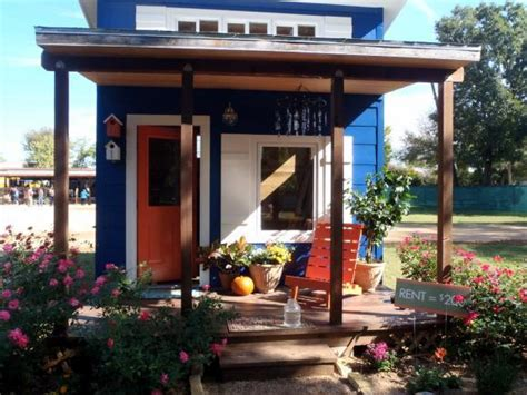 emergency housing in texas austin to shelter homeless in a tiny house village shareable