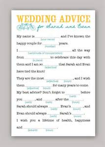 Mad Libs Wedding Template by Wedding Mad Libs Template