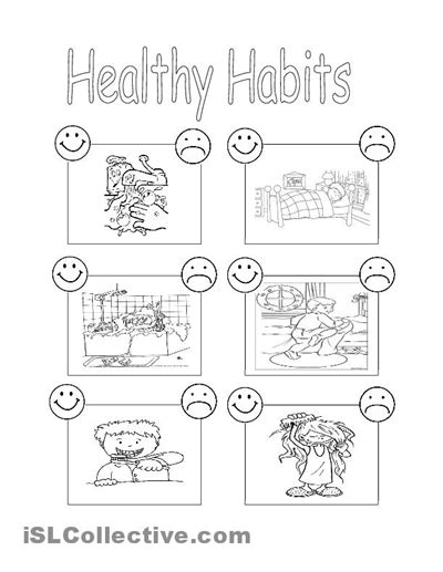 fitness nutrition and health free k 8 printables