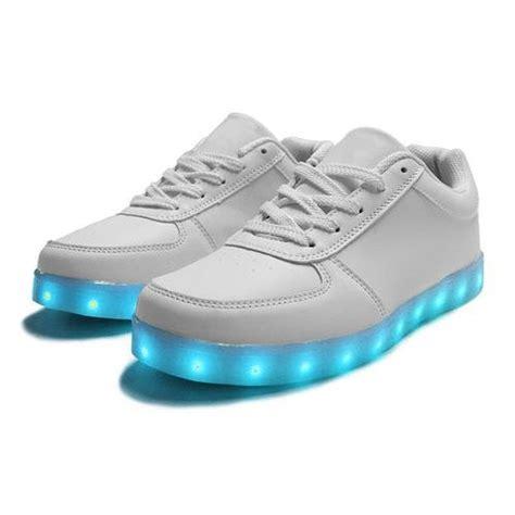 schuhe mit beleuchtung zapatillas con luces led y velcro blanco para ni 241 os