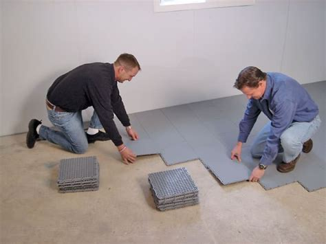 Basement Sub Floor Matting Options in Corner Brook