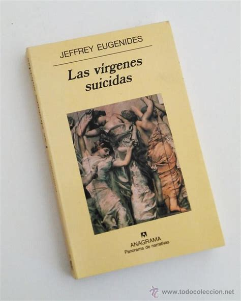 libro virgenes suicidas las virgenes suicidas jeffrey eugenides anagr comprar