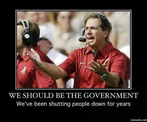 Nick Saban Memes - nick saban funny quotes quotesgram