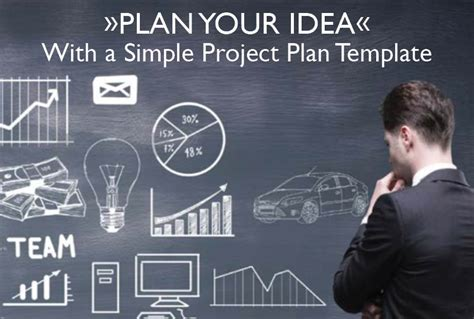 plan your idea with a simple project plan template