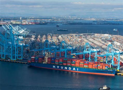 port of los angeles new year port of los angeles new data shows air pollution