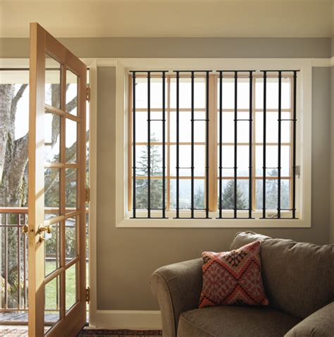 interior operable window security bars studio design - Window Security Bars Interior
