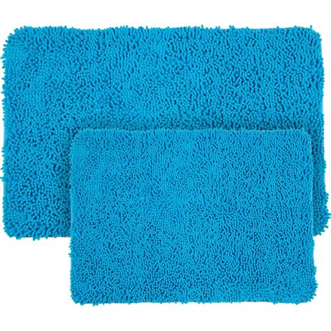 memory foam shag rug lavish home 2 pc memory foam shag bath mat bath rugs home appliances shop the exchange