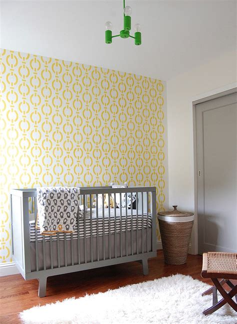 Grey And White Nursery Decor 20 Gray And Yellow Nursery Designs With Refreshing Elegance