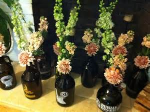 masculine table centerpieces growlers as centerpiece table assignments great way