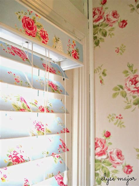 How To Make Paper Blinds - tinkered treasures wallpaper wallpappers