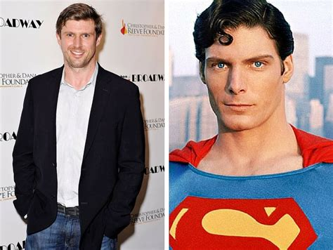 christopher reeve son superman son of iconic superman christopher reeves matthew became