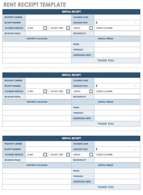 rent payment receipt template excel 12 free payment templates smartsheet