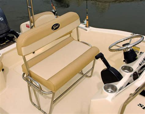 scout boat bench seat scout boats 187 sportfish 2013 2013 reviews performance
