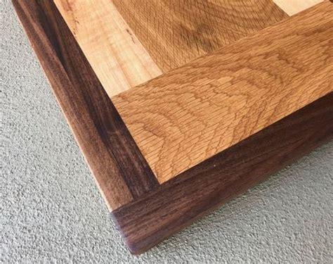 buy hand crafted pecan ash  walnut butcher block