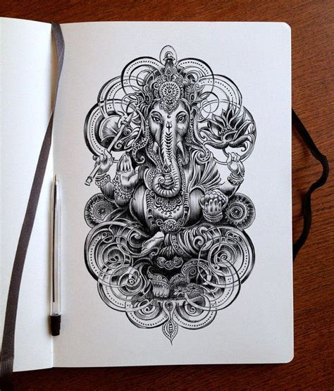 colour my sketchbook unearthed 25 best ideas about ganesha tattoo on ganesha ganesh and ganesha drawing