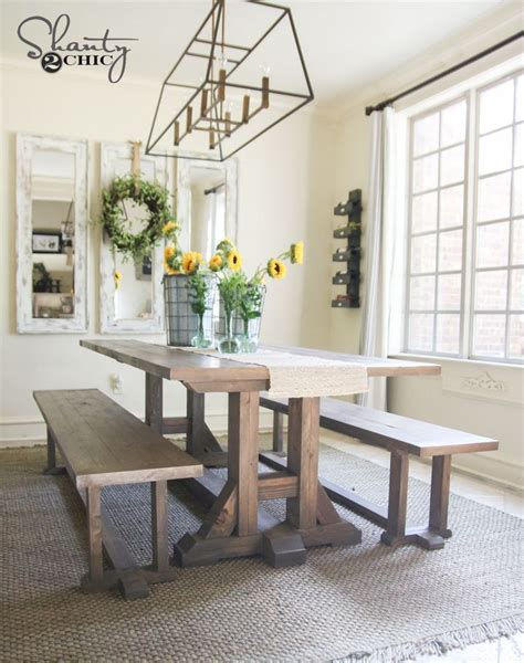 dining room furniture plans best 25 diy dining table ideas on diy dining