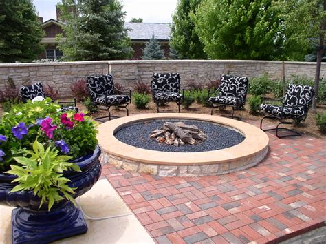 pit for patio wonderful gas pits decorating ideas