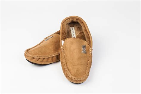 mens moccasin slipper liverpool mens moccasin home casual winter suede slippers