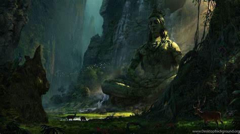 desktop wallpaper hd lord shiva unexplored ruins lord shiva wallpapers desktop background