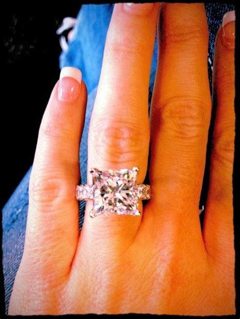 25 princess cut ideas on rings
