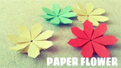 youtube paper flower tutorial free coloring pages paper flower tutorial origami easy