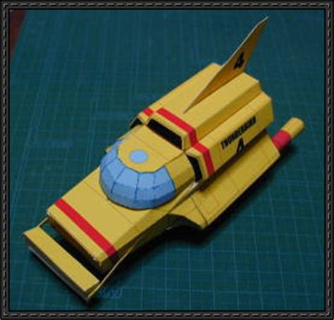 How To Make A Paper Submarine - papercraftsquare new paper craft thunderbird 4
