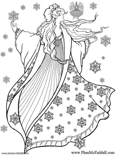 barbie winter coloring pages coloring page winter fairy coloring picture winter fairy