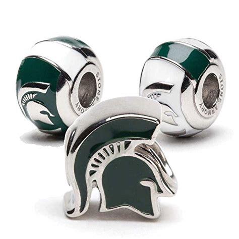 Michigan State Spartans Pandora Charms   University Pandora Charms