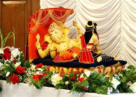 mikeliveira s space ganesh chaturthi 2012 decoration