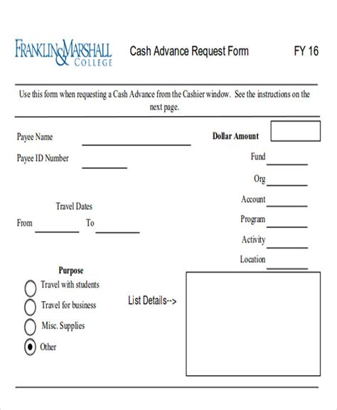 sample payment request forms  ms word
