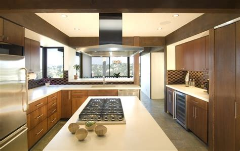 mid century modern kitchen countertops mid century modern kitchen update modern kitchen los