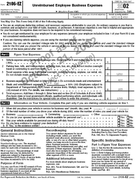 form 2106 tax return publication 508 tax benefits for work related education